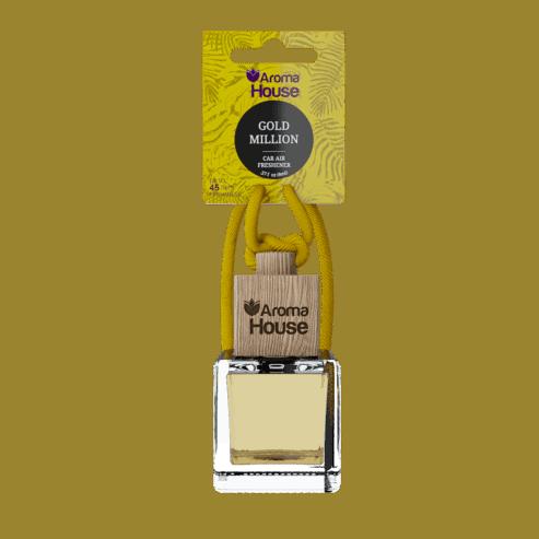 GOLD MILLION Dyfuzor-zapach samochodowy-Aroma House_8ml